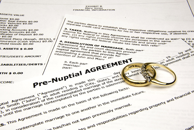 Why Prenups Aren't a 4-Letter Word Anymore